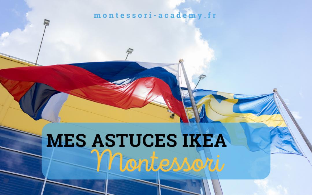 Mes astuces Ikea Montessori