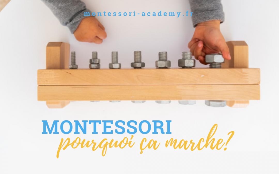 La méthode Montessori : pourquoi ça marche aussi bien?